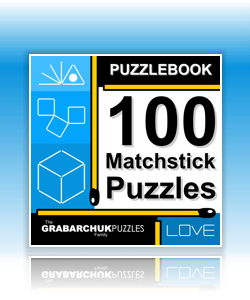 Puzzlebook: 100 Matchstick Puzzles