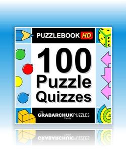 Puzzlebook: 100 Puzzle Quizzes