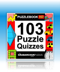 103 Puzzle Quizzes (Interactive Puzzlebook for Tablets and E-readers)